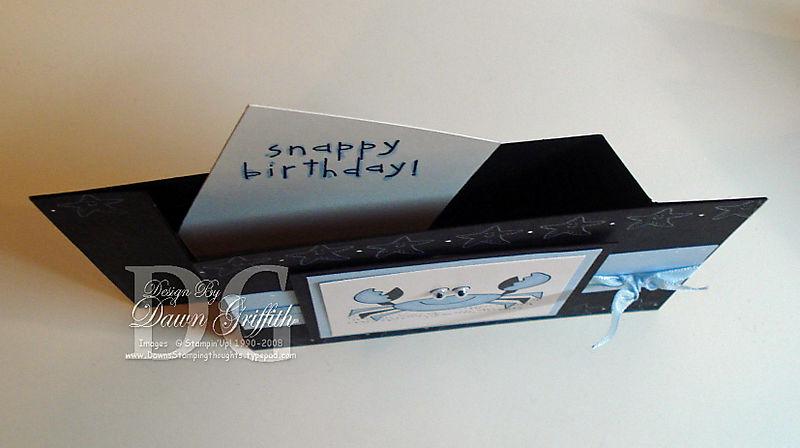 Wiper card Black  top
