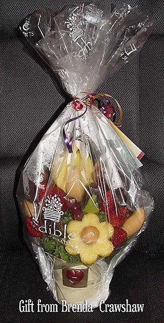 Fruit arrangement from Brenda