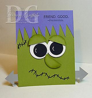 Cute Frankie card