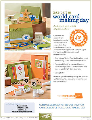 World Card making day #1