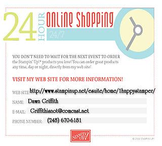 24 7 online ordering announcement