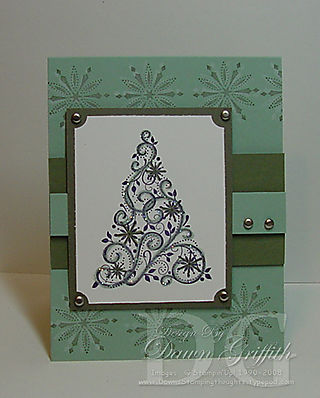 Faux Embossing Christmas
