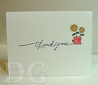 Online orders Thank you card
