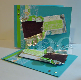 Faux Chocolate candy bar