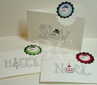 Thank you notes for December 2008
