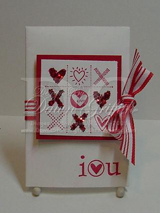 I {Heart} You envelope holder