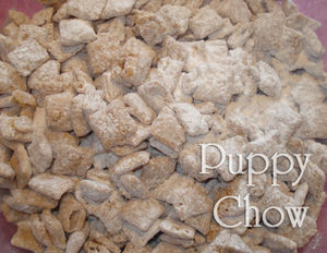 Puppy Chow upclose