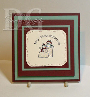 Mini envelope holder closed #1 By Dawn Griffith