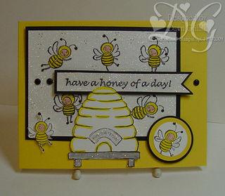 Iridescent Ice Bees #1