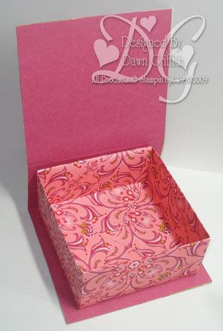 Valentine Box opened