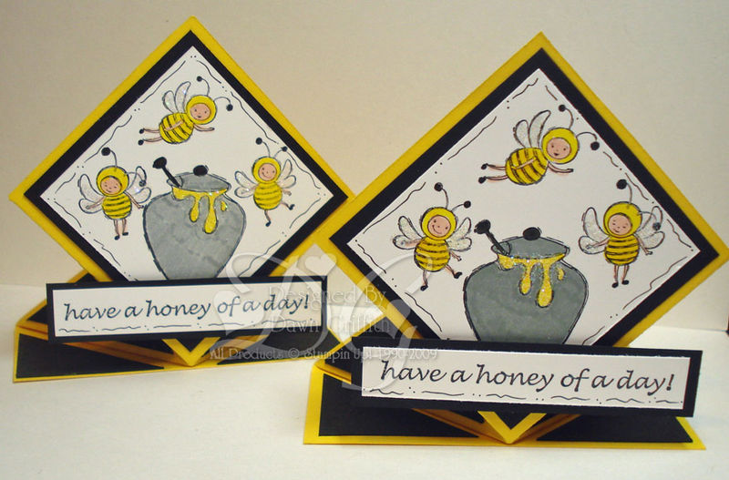 Honey of a day spring card #2