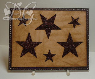 Chocolate stars Dawn Griffith