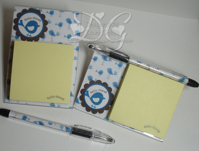 Pacific Point  Post it note holder