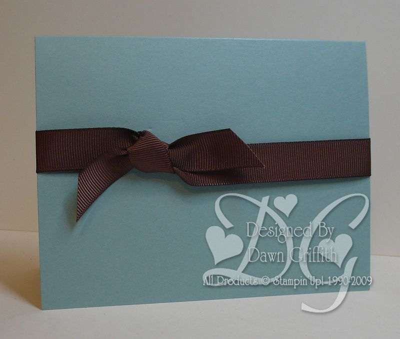Chocolate bow with Dawn