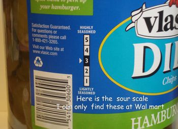 Sour pickle scale
