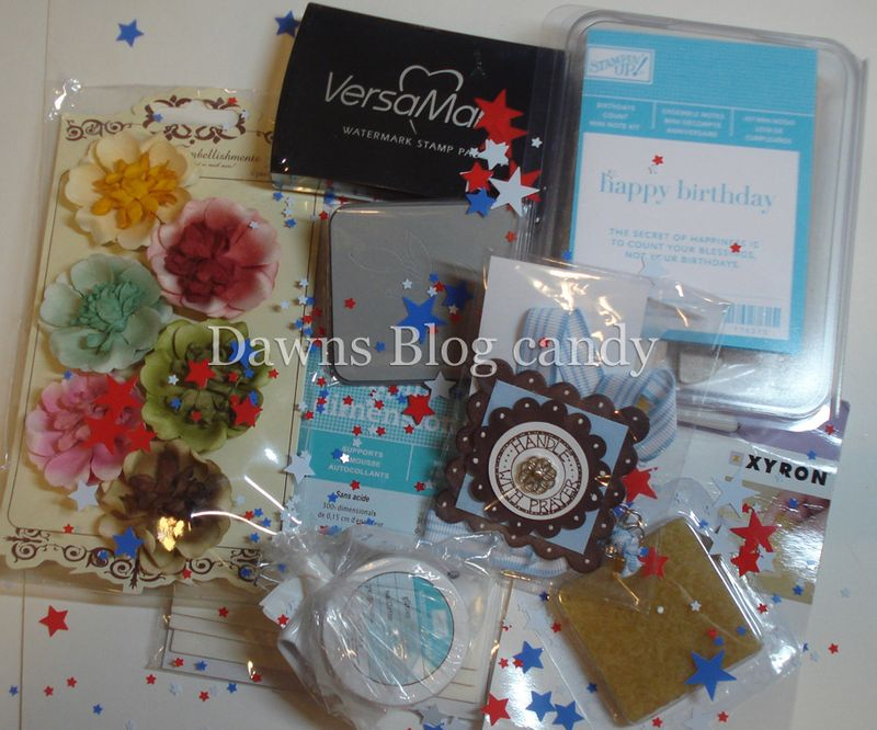 DawnsBlog candy  for Memorial Day 2009