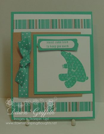 Double flap card