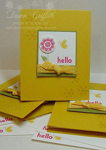 Simple Hello Card