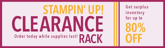SU! Clearance Rack