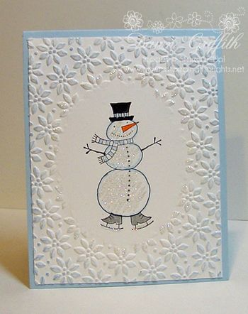 Snowman card for HAP 09