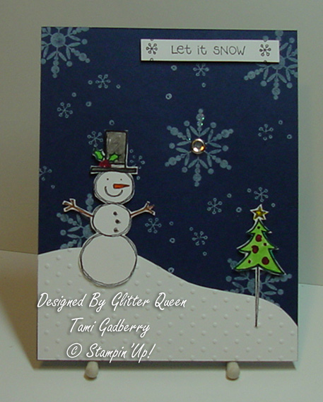 Glitter  queens Christmas  swap Tami Gadberry