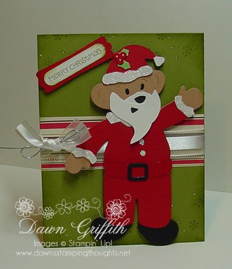 Merry Christmas Build a bear Santa
