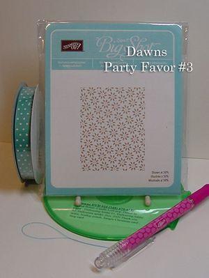 Dawns Party favor #3