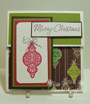 Christmas Gift card holder Dawn griffith