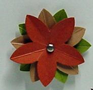 5 petal punch flower