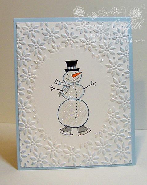 Snowman  card  for HAP 09