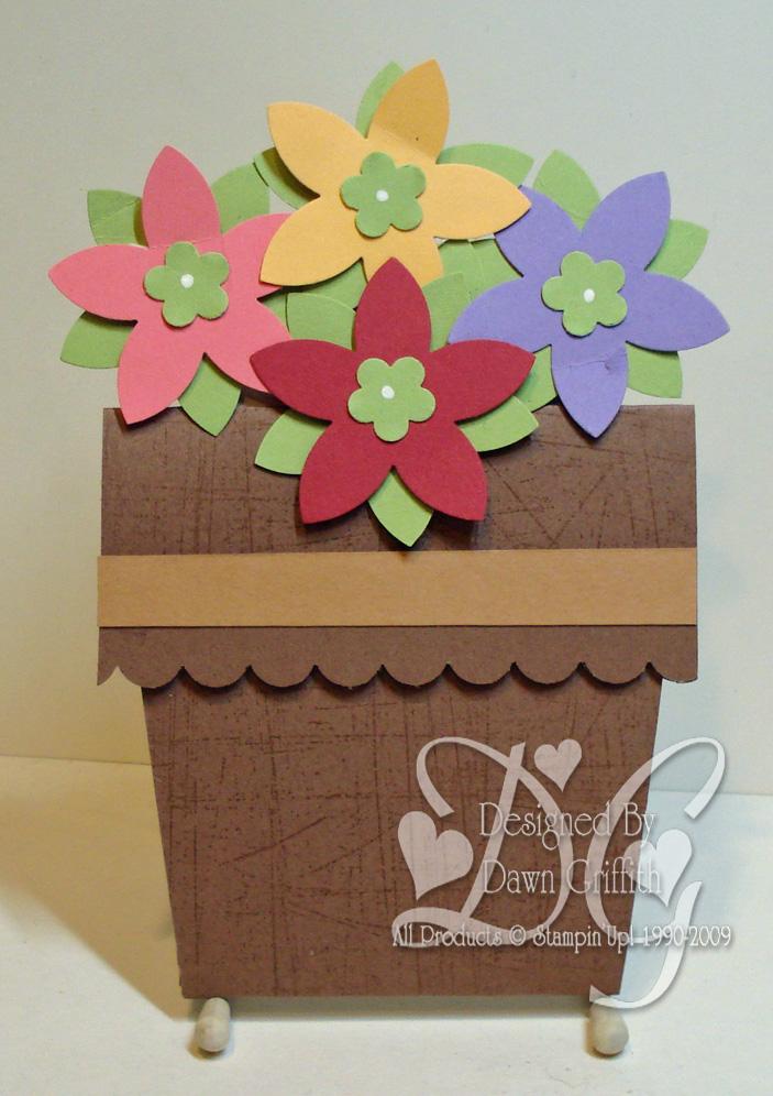 Flower pot card #1