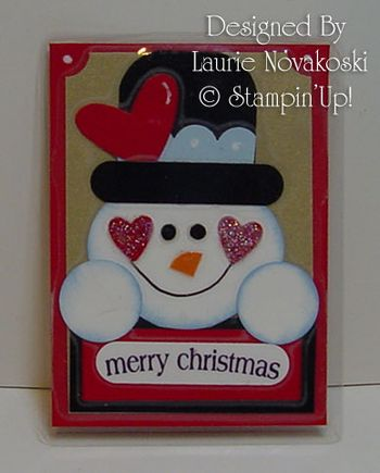 Lauries Snowman Magnet