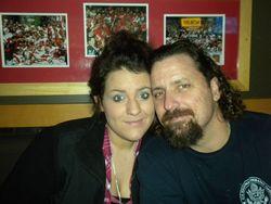 Jess & Dad at B-dubs
