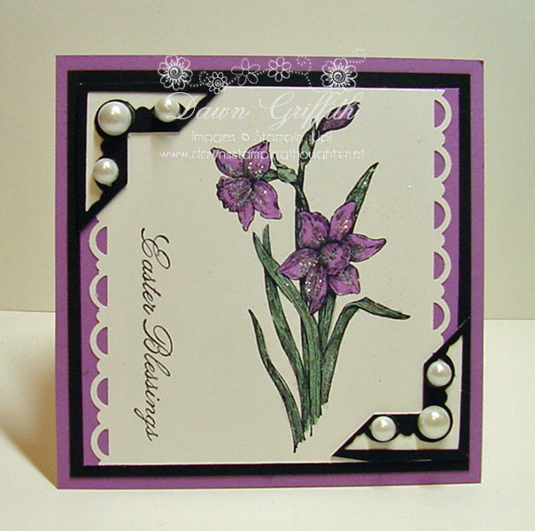 Easel card closed  front  Dawn Griffith