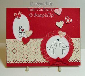 Valentine swap by Tami Gadberry