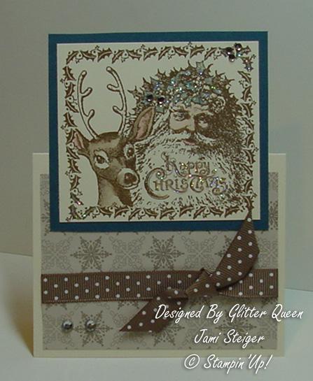Glitter  queens Christmas  swap Jami Steiger