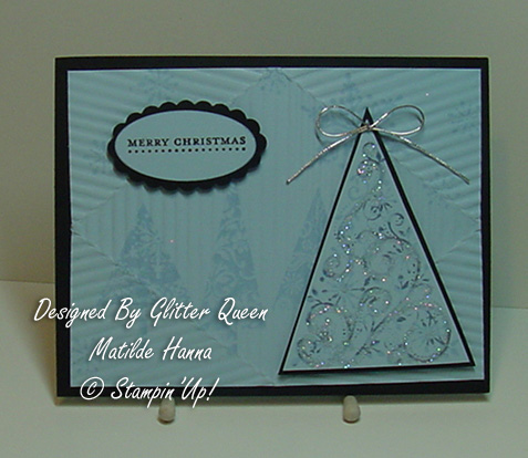 Glitter  queens Christmas  swap Matilde Hanna