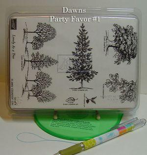 Dawns Party favor #1