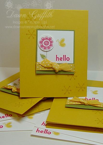 Simple Hello Card