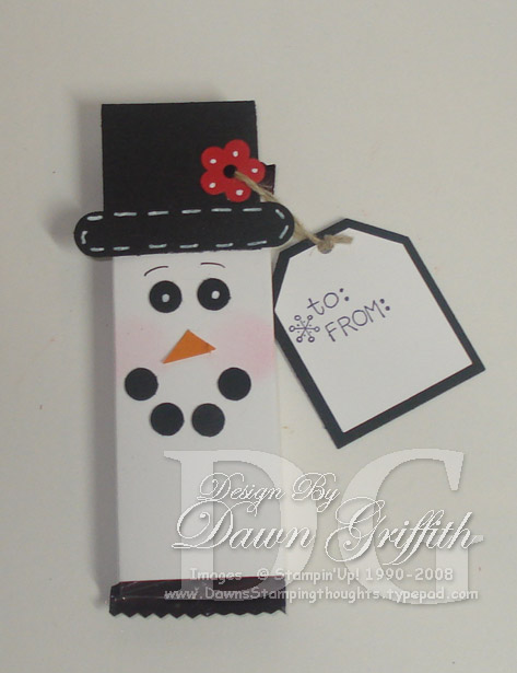 Snowman candy wrapper (2)