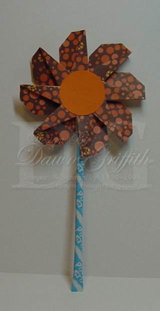 Tag punch flower