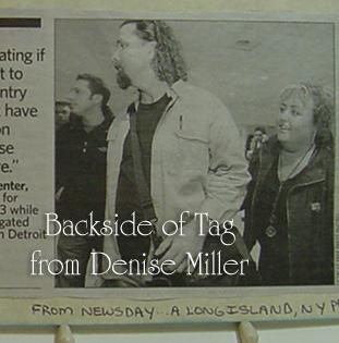 Denise Miller tag backside