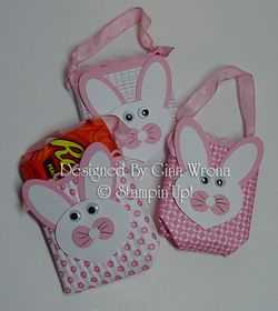 Ginas Bunny gifts inside