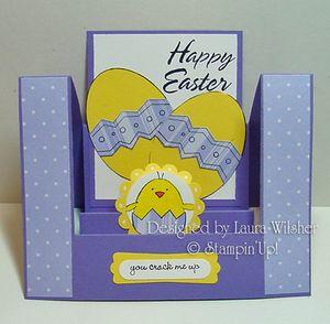 Laura Wilsher Easter card