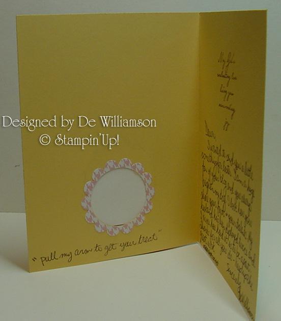 De Williamson Easter card inside