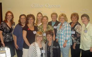 Glitter Queens with Shelli & Sara
