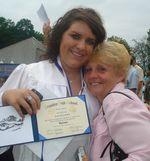 Happy Jess and happy Grandma