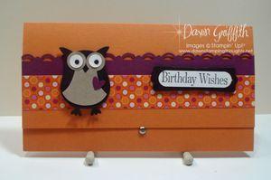 Owl Birthday Wishes