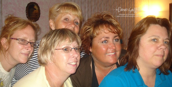 Nose Piercing party ~ Stampers club  July 2010