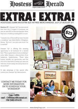 Extra Extra promotion